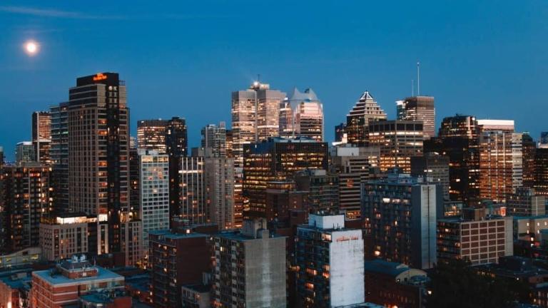 Ville de Montréal au Québec