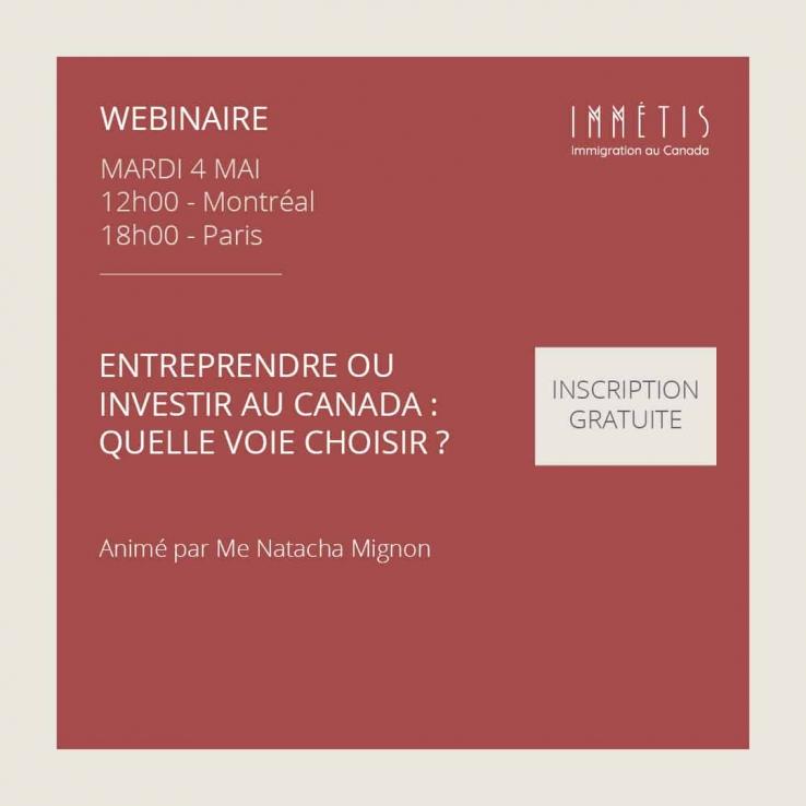 Entreprendre ou Investir au Canada : quelle voie choisir ?